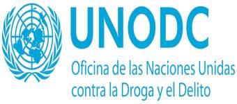 Logo de la oficina de las Naciones unidas contra la droga y el delito